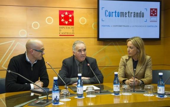 La Diputación consolida su apoyo a los cineastas de Castellón al convocar el II Festival Provincial de Cortometrajes 'Cortometrando'