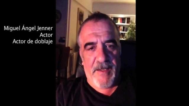 Saludo del actor Miguel Ángel Jenner a los participantes de CORTOMETRANDO