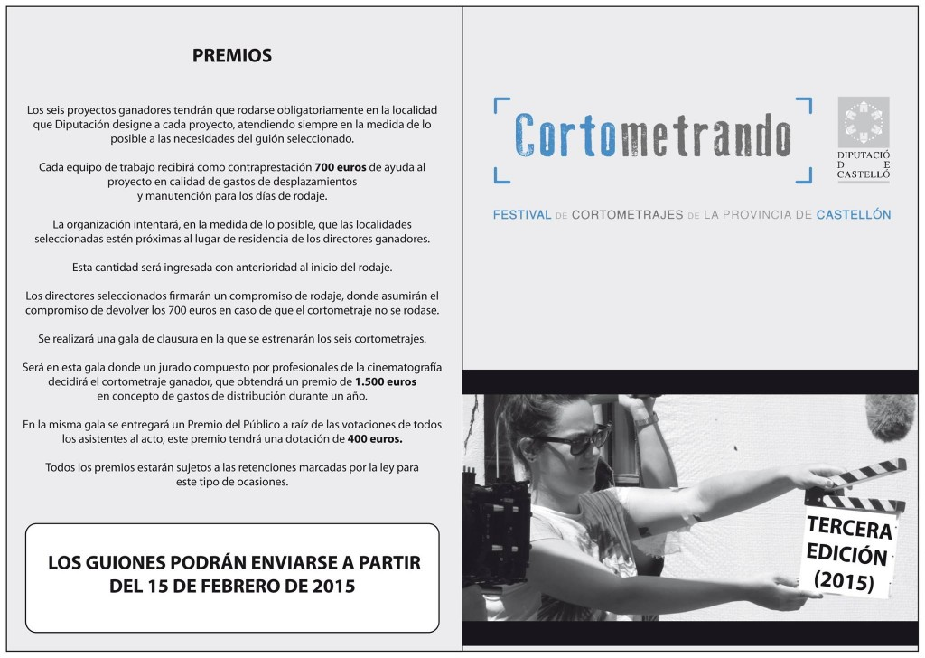 Bases Cortometrando 2015